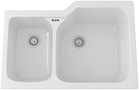 Rohl 6339-00 FIRECLAY KITCHEN SINKS, White 00
