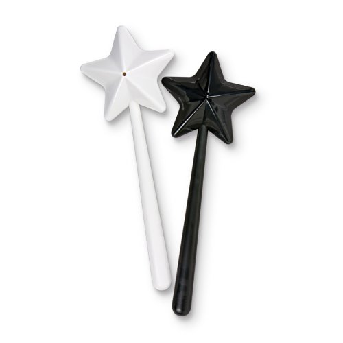 Fred SALT+MAGIC Wand Salt and Pepper Shakers
