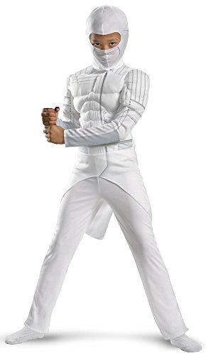 [G.i. Joe Retaliation Storm Shadow Classic Muscle Costume, White, Small] (Book Week Costume Ideas To Make)