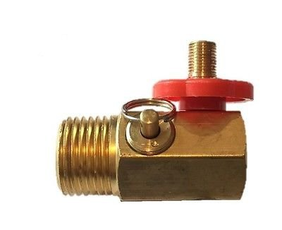 Compressed Air Bubble Tank Manifold Valve W/ Fill Port , Ball Valve , & Relief ()