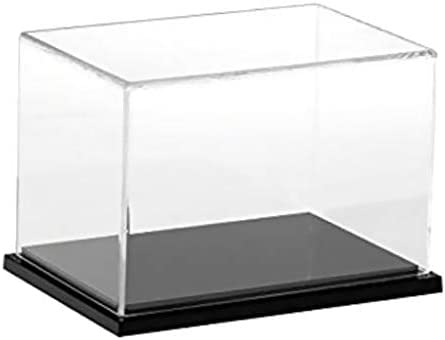 Bonarty 1Pcs Clear Acrylic Display Case Countertop Box Cube Organizer Stand Dustproof Protection Showcase for Action FiguresToysCollectibles (15x10x10 Inch) / Bonarty 1Pcs Clear Acrylic Display Case Countertop Box Cube Organizer St...