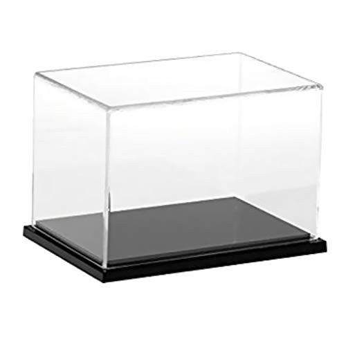 Bonarty 1Pcs Clear Acrylic Display Case Countertop