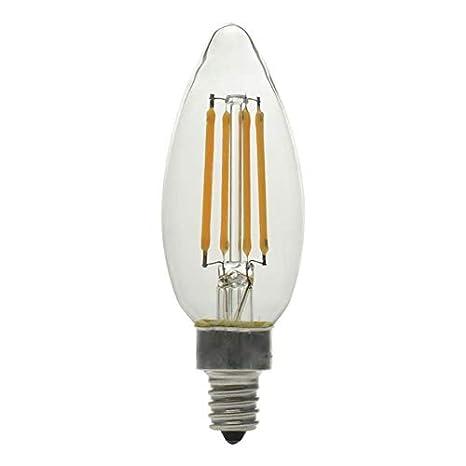 Ge Basic 12 Pack 60 W Equivalent Warm White B10 Led Decorative Light