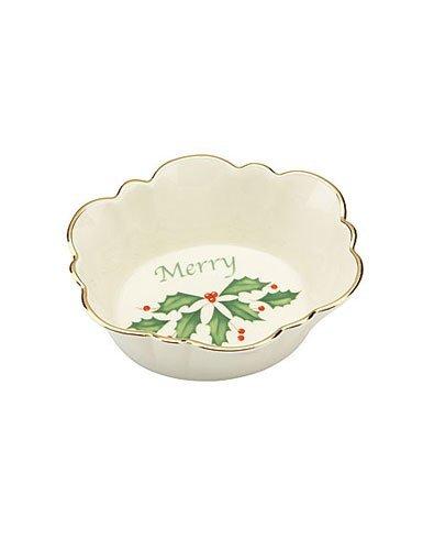 - Lenox Holiday Oval Merry Dish