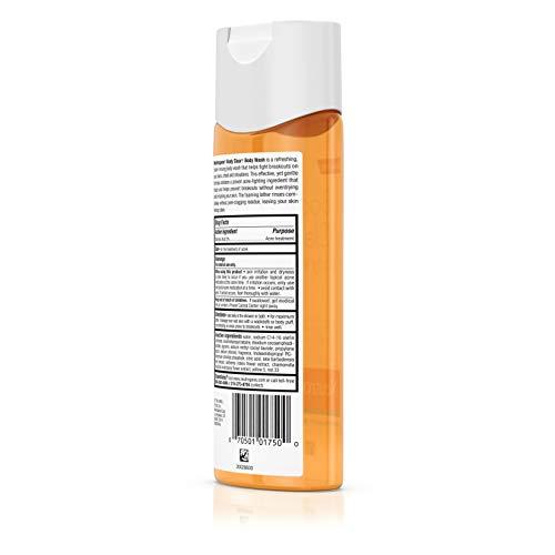 Neutrogena Body Clear Acne Body Wash with Glycerin & Salicylic Acid Acne Medicine for Acne-Prone Skin, Non-Comedogenic, 8.5 fl. Oz (Pack of 6) by Neutrogena (Image #4)