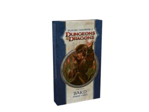 Player's Handbook 2 - Bard Power Cards: A 4th Edition D&D Accessory