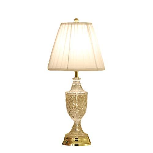Lámpara de Mesa Cristal de Cristal Europeo Lámpara de Mesa ...