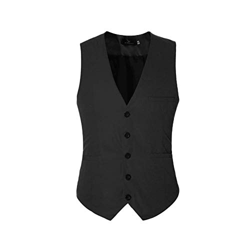4e4eab9ad7667 ジレ ベスト メンズ おしゃれ ビジネス フォーマル 無地 スリム 男性用 スーツ ベスト Vネック 紳士 3