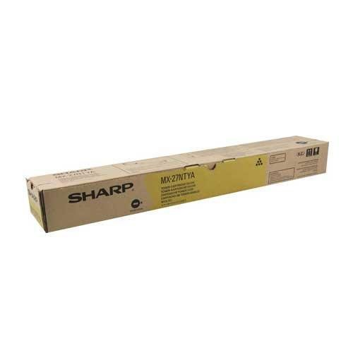NEW Sharp OEM Toner MX-27NTYA (YELLOW) (1 Cartridge) (Color Laser Supplies) by SHARP
