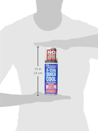 Interdynamics Certified A/C Pro R-134a With Quick Cool (14 ounces) by Interdynamics (Image #2)