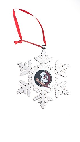 Collegiate Pulse Florida State Seminoles NCAA Snowflake Christmas - Florida Stocking State Christmas Seminoles