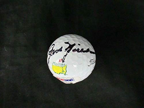 Signed Golf Ball Masters - Jack Nicklaus Signed Master Titleist PROV1 Golf Ball Auto AC05797 - PSA/DNA Certified - Autographed Golf Balls