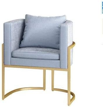 G-K's Store Nordic Wrought Iron Single Sofa Chair Golden Chair Cafe Lounge Chair Sales Department to Discuss Chair Living Room Dining Chair 1