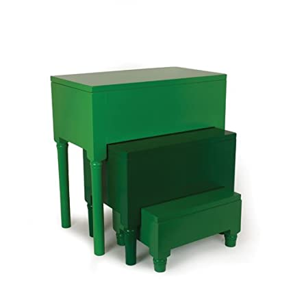 Amazon nesting tables step stools color green kitchen dining nesting tables step stools color green watchthetrailerfo