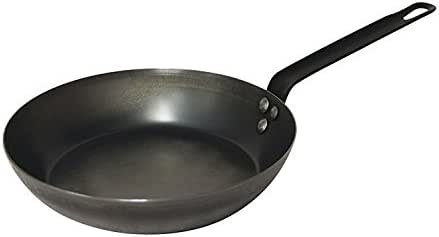 Pyrolux Fry Pan Fry Pan with Triple Riveted Handle, Black, 11053
