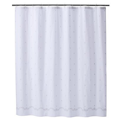 Amazon Simply Shabby Chic Fleur De Lys Lis Embroidered Fabric Shower Curtain Other Products Everything Else