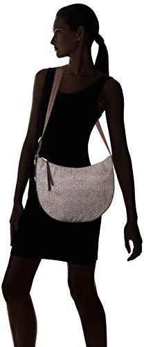 Marrone X marrone Donna op 30x32x12 Tracolla Classico Bag Borbonese L Cm w Luna Borsa A H Fnwz7H7q