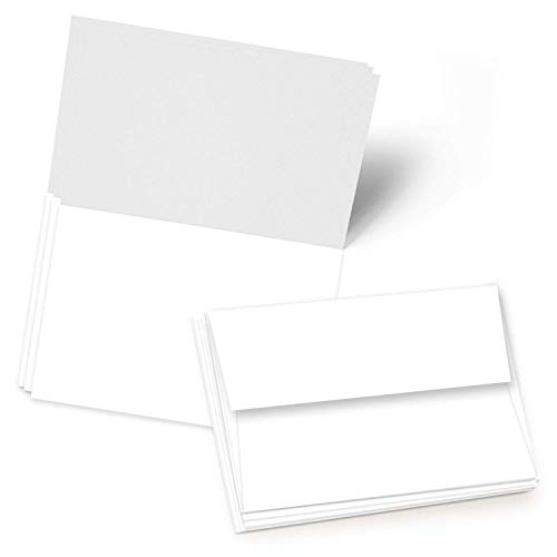 50 Blank Greeting Cards - A4-4