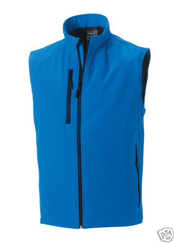 Para Russell Hombre Sin Azul Athletic Chaleco Mangas wqrqI1Z