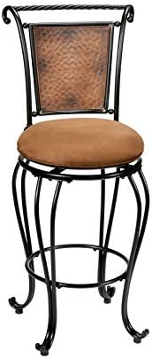 Hillsdale Milan Swivel Counter Height Stool