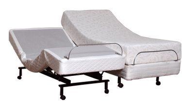 Split King Size Leggett & Platt S-Cape Adjustable Beds by Adjustables by Leggett & Platt