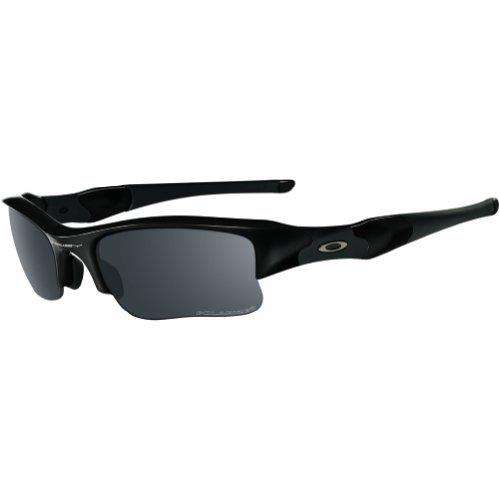 d18e9c913fa Oakley Flak Jacket XLJ Adult Polarized Sport Active Lifestyle Sunglasses  Eyewear - Polished Black Black Iridium One Size Fits All (B00EUMMO8K)