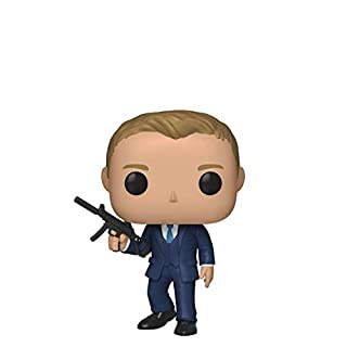 Funko Pop! Movies: James Bond - Daniel Craig (Quantum of Solace), Multicolor, Standard