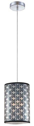 Ceiling Adagio Light (Eurofase 23187-016 Adagio 1-Light Large Pendant Lighting, Chrome)