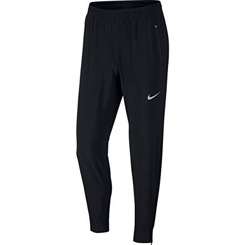 Nike Men's Essential Woven Running Pants (Medium, Black)