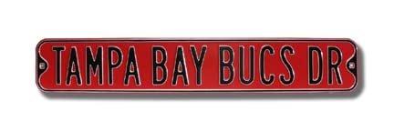 - Fremont Die NFL Tampa Bay Buccaneers Metal Wall Décor- Large, Heavy Duty Steel Street Sign
