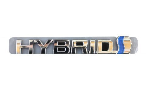 Genuine Toyota Accessories 75374-47041 Hybrid Emblem by Toyota (2014 Toyota Camry Emblem compare prices)