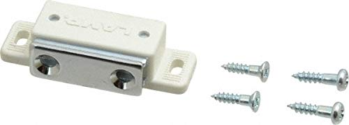 1.99'' Long x 0.67'' Wide x 0.47'' High, Plastic & Steel Tension Catch pack of 50
