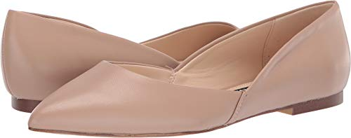 Nine West Women's Roughley Flat Barely Nude 8.5 M ()