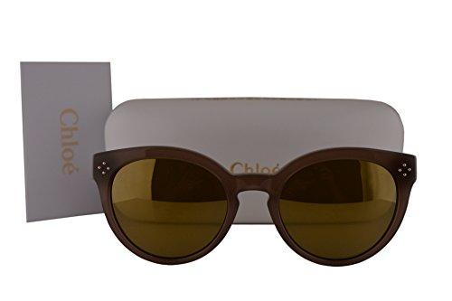 Chloe CE691S Sunglasses Turtledove Brown w/Green Mirror Lens 272 CE - Sunglasses Chloe