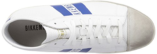 Bikkembergs 660291, Men's Trainers Blue (Weiß/Blau)