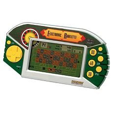 EXCALIBUR ELECTRONIC ROULETTE HANDHELD GAME (Excalibur Handheld Games)