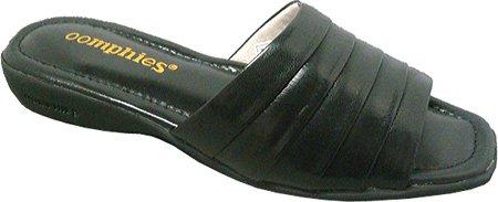 Pantofole Da Donna Di Lamo Nero