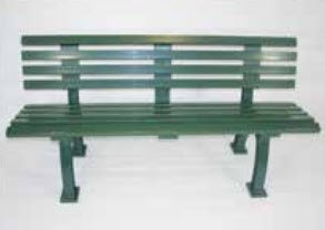 Har-Tru Tennis Court Seating Courtsider Court Bench, -