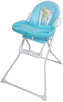 Trona para bebe plegable,modelo osito celeste, silla bebé.DE ...