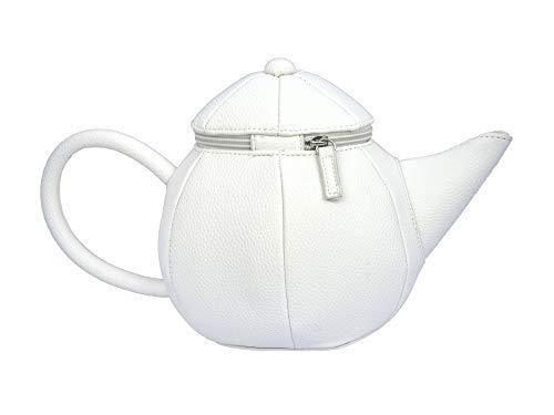 akori Teapot Purse Handbag White, for Lolita, Alice Cosplay]()