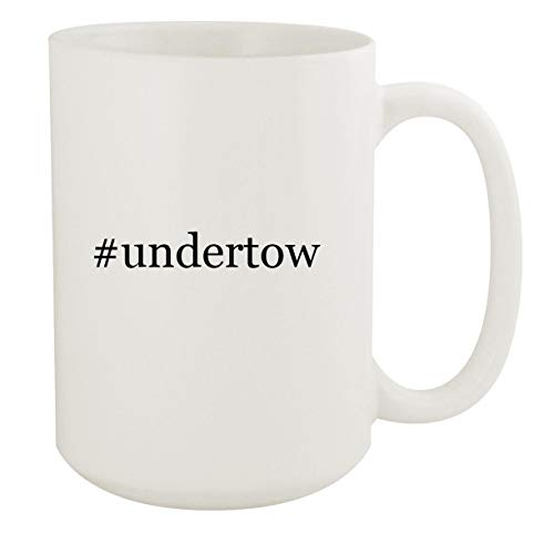 #undertow - 15oz Hashtag White Ceramic Coffee Mug