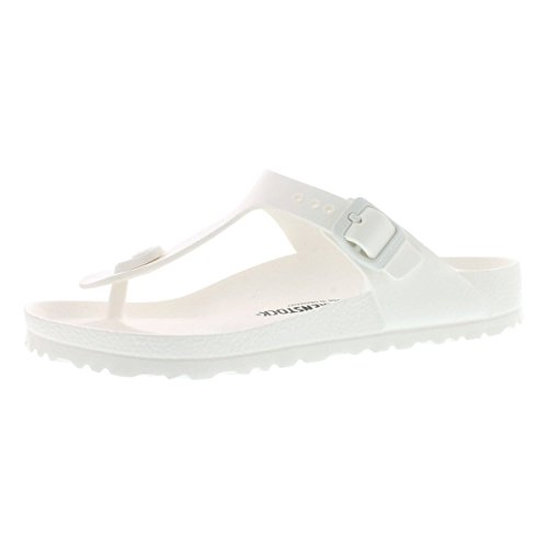 92a870f7d Birkenstock Womens Gizeh EVA Sandals White Size 39 M EU