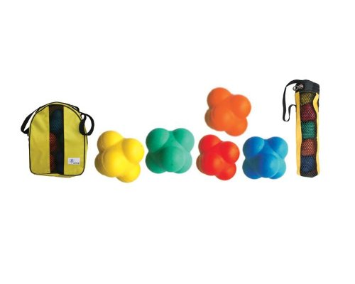"Cintz 3"" Reaction Balls, Set of 5 in a bag"