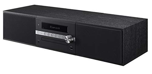 Pioneer X-CM56B Mini Stereo System with Built-in Bluetooth (Black) (Renewed)