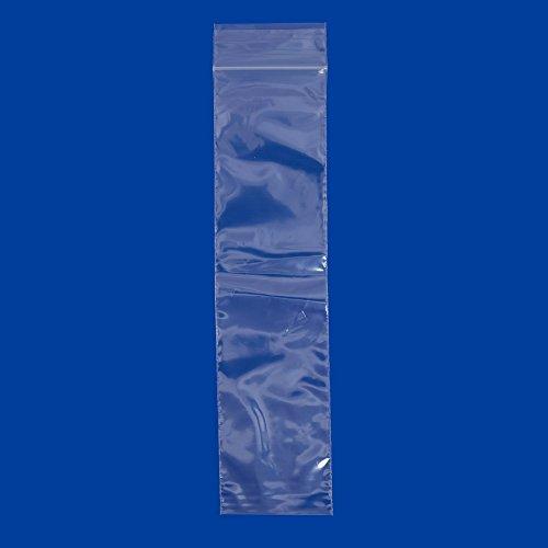 Plastic Zip Top Bag 2x8 (Package of 100)