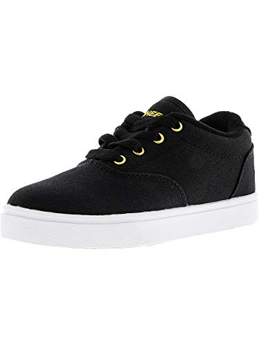 Heelys Shoes Wheels - Heelys Unisex Launch (Little Kid/Big Kid/Adult) Black/Gold 4 M US Big Kid