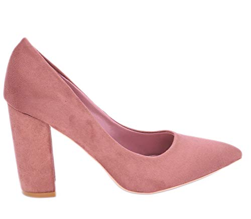 Shoes Fashion Zapatos Mujer De Vestir Rosa 6Hd0H8