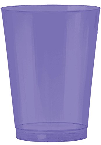New Purple Plastic Cup Big Party Pack, 10 Oz, 72 Ct.