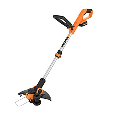 "Worx WG162 20V 12"" Cordless String Trimmer/Edger, Battery and Charger included"