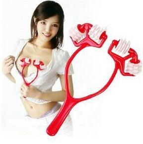 (Pyrsun(TM) 24 Cells Chest SPA Massager Bust Breast Roller Massage)